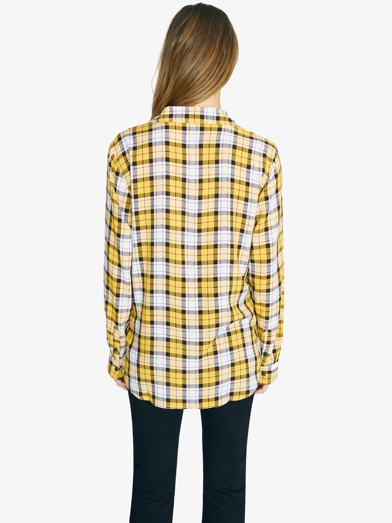 New Generation Boyfriend Shirt New Mod Plaid