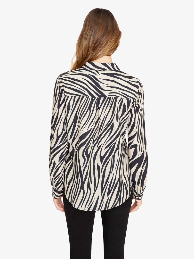 Monday To Sunday Printed Shirt Zebra