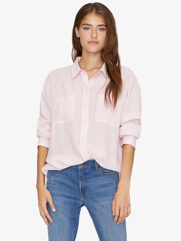 Waverly Boyfriend Shirt Pink Air