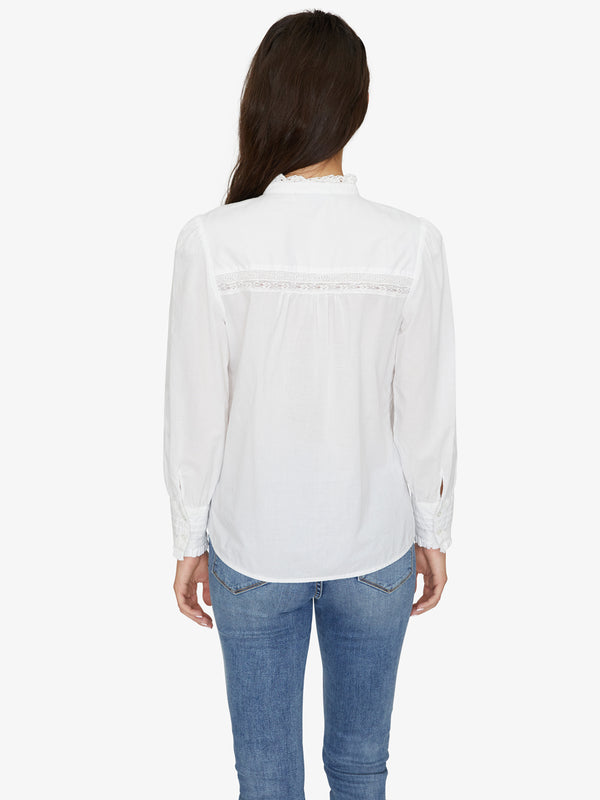 Keepsake Heirloom Blouse White Jasmine