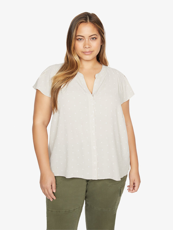 Tiffany Shell Top Large Dot To Dot Stone Inclusive Collection