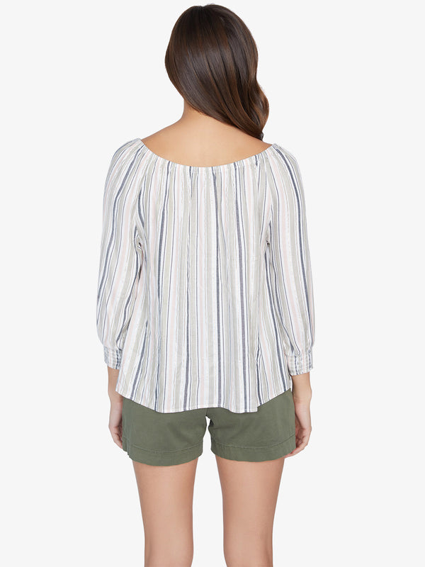 Blue Water Blouse Harmony Stripe