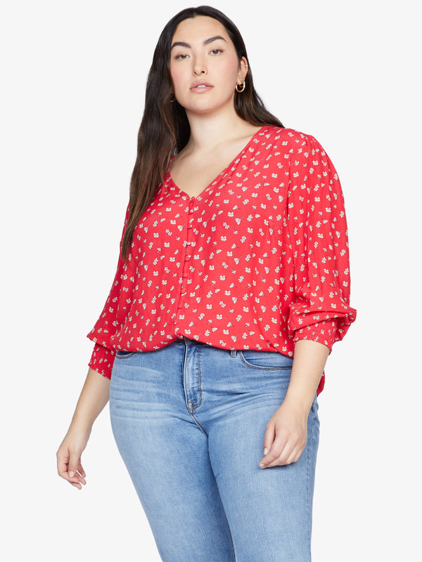 Harmony Top Wildflower Red Inclusive Collection