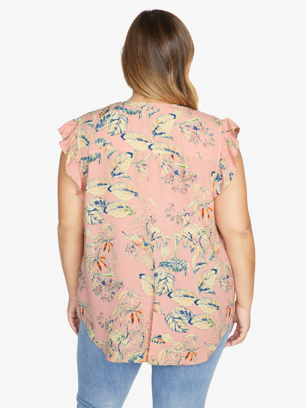 Firefly Shell Top Beach Babe Inclusive Collection