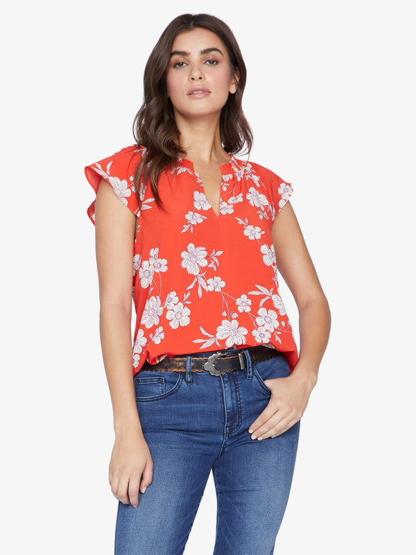 Garden Shell Top Not Bashful