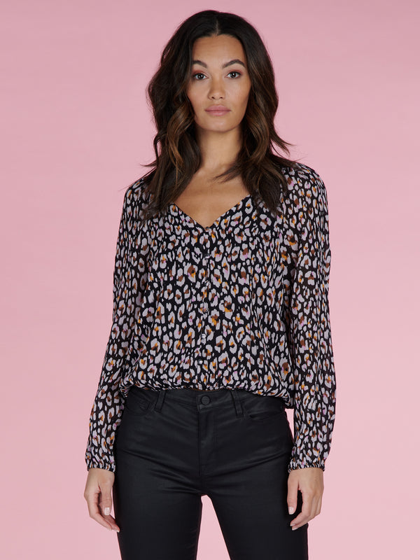 Meadow Blouse Wild Leo - Woven Top