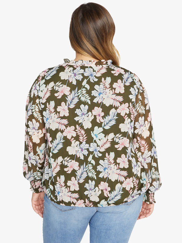 Love In Bloom Blouse Mini Tropic Punch Inclusive Collection
