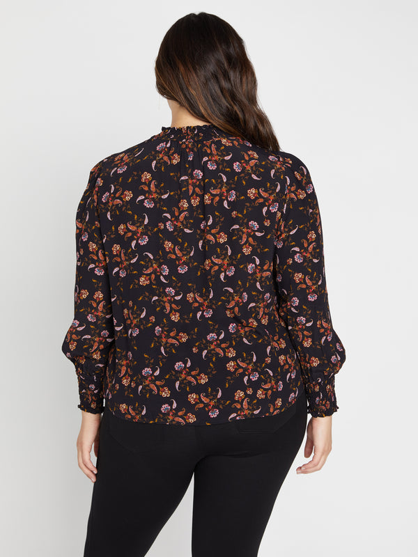 Be Bold Top Micro Paisley Inclusive Collection