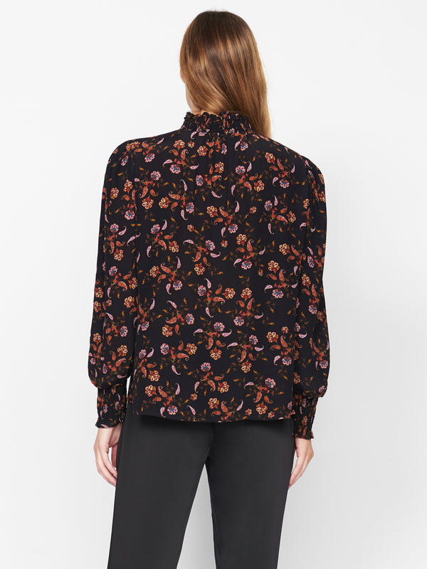 Be Bold Top Micro Paisley