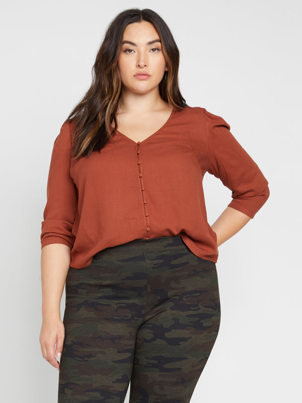 Make A Statement Top Autumn Rust Inclusive Collection