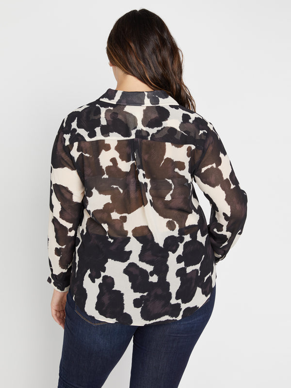 Monday To Sunday Top Pony Print Inclusive Collection