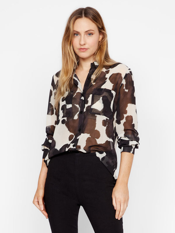 Monday To Sunday Top Pony Print