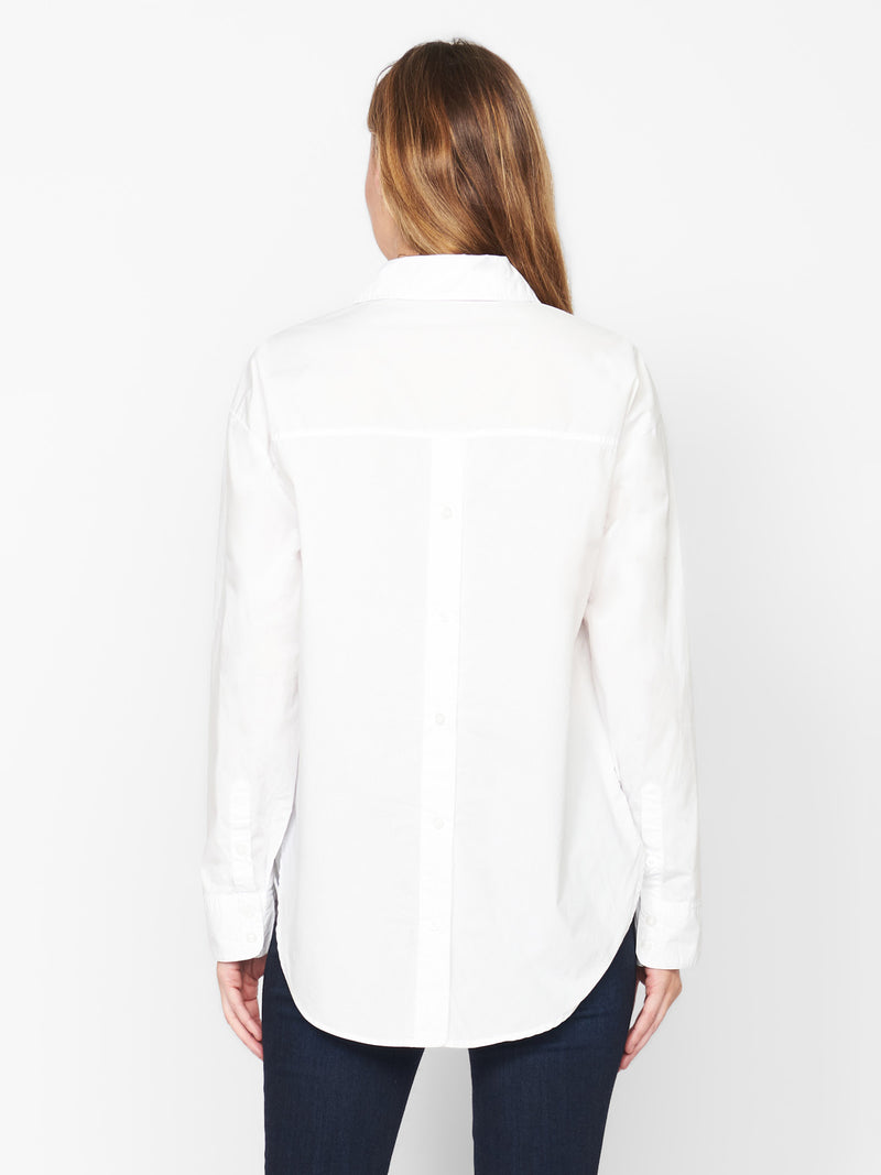 Open Back Tunic White