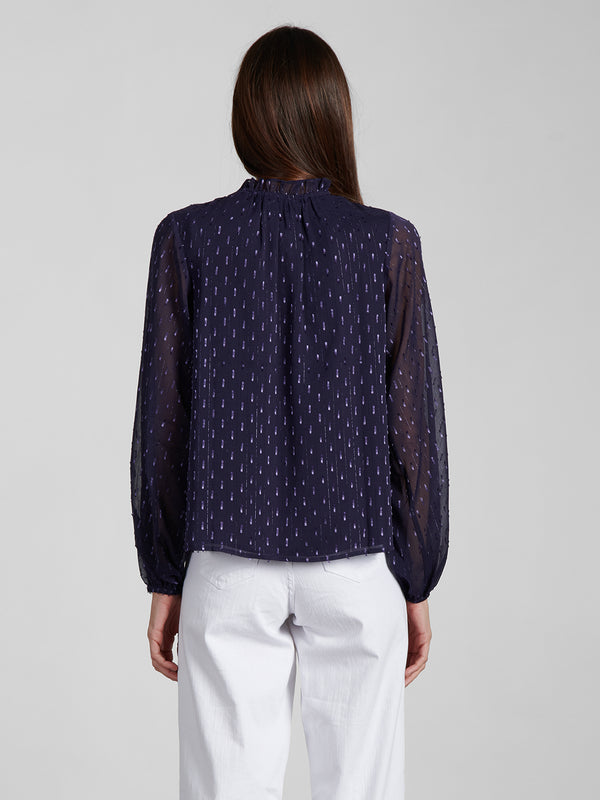 Forever Blouse Dark Grape