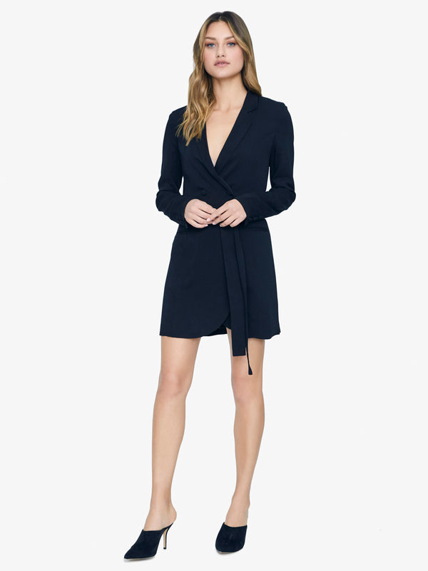 Show Stopper Blazer Dress Black