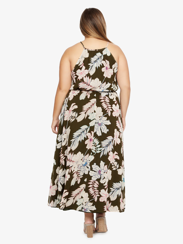 Big Flirt Maxi Dress Tropic Punch Inclusive Collection