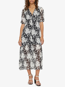 Florence Maxi Dress Shadow Bloom