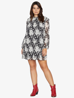Audrey Swing Dress Shadow Bloom Inclusive Collection