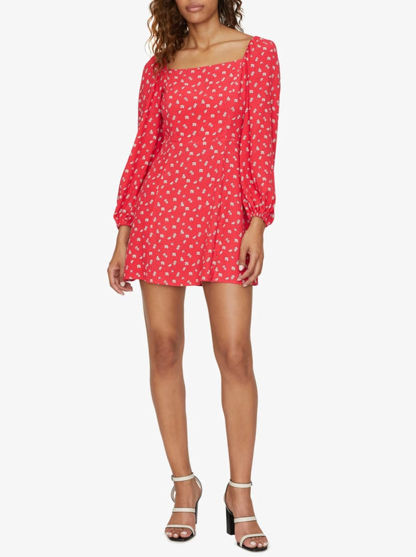 Cilia Mini Dress Wildflower Red