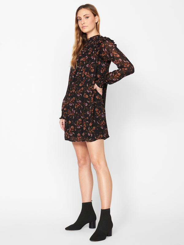 Run Wild Dress Micro Paisley