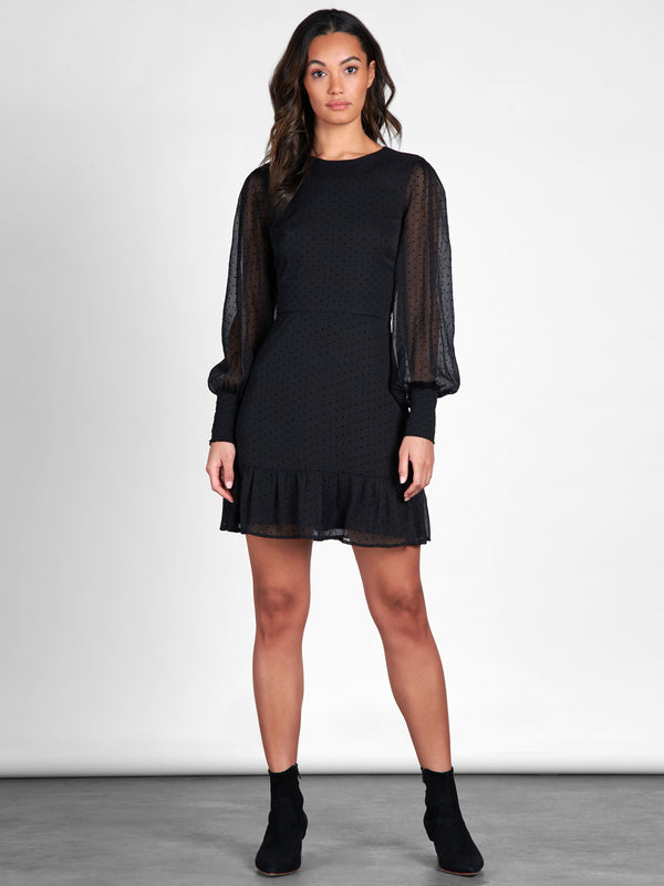 One Wish Dress Black - Black / Dress
