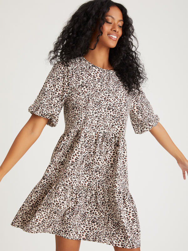 All Day Dress Air Leopard