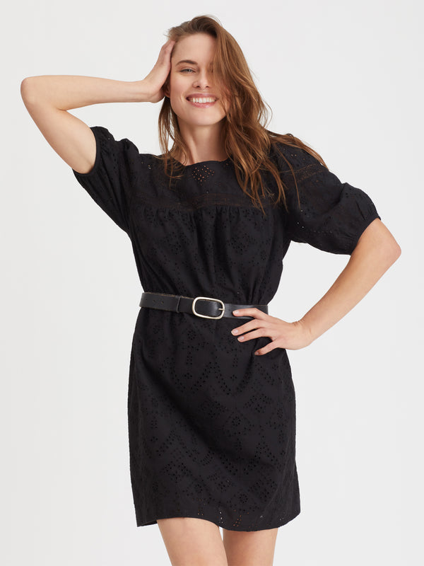 Full Swing Heirloom Dress Black