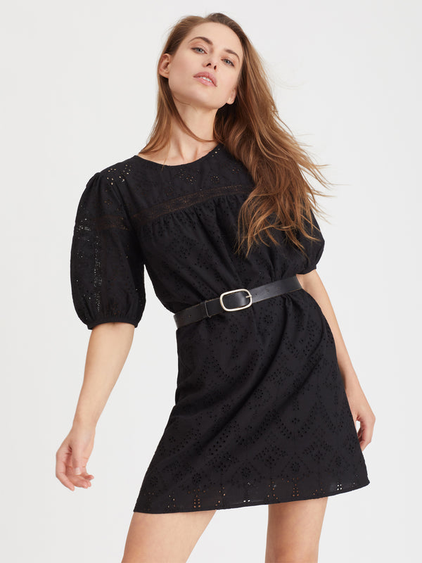 Full Swing Heirloom Dress Black - Dress