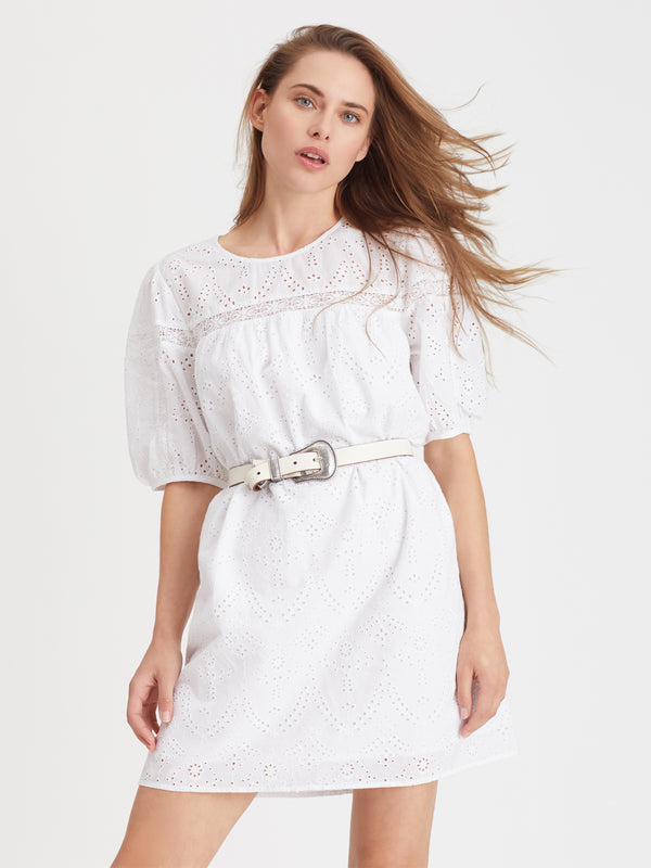 Full Swing Heirloom Dress White - White / Dress