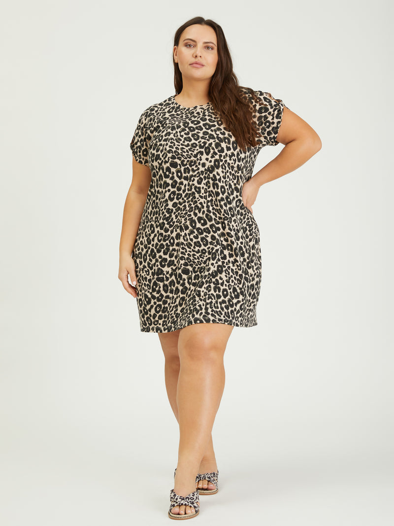 So Twisted T-Shirt Dress Classy Cat Inclusive Collection -