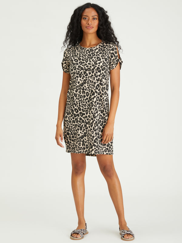 So Twisted T-Shirt Dress Classy Cat - Dress