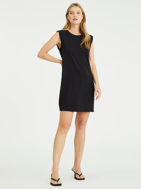 Easy Way Knit Dress Black