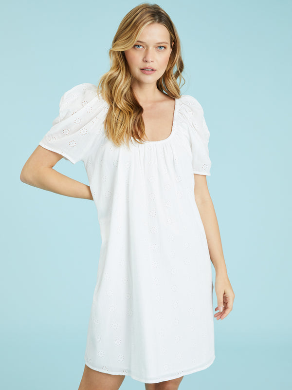 Summer Fling Dress White