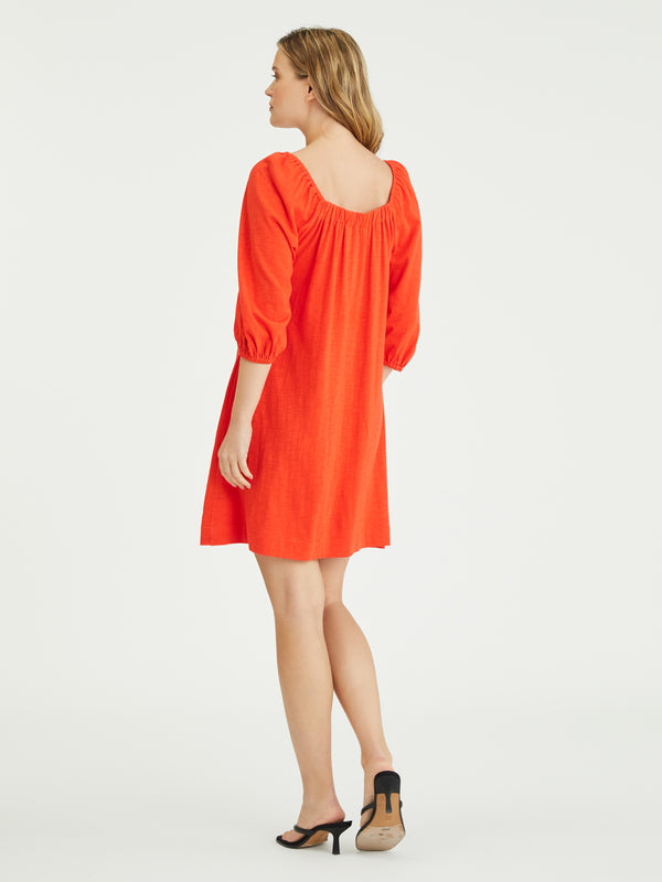 Daylight Knit Dress Sunfire