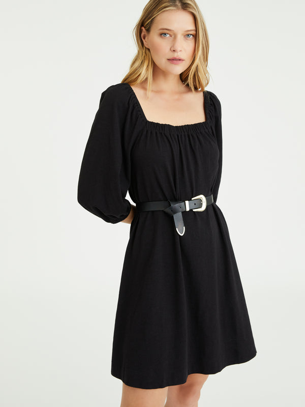 Daylight Knit Dress Black
