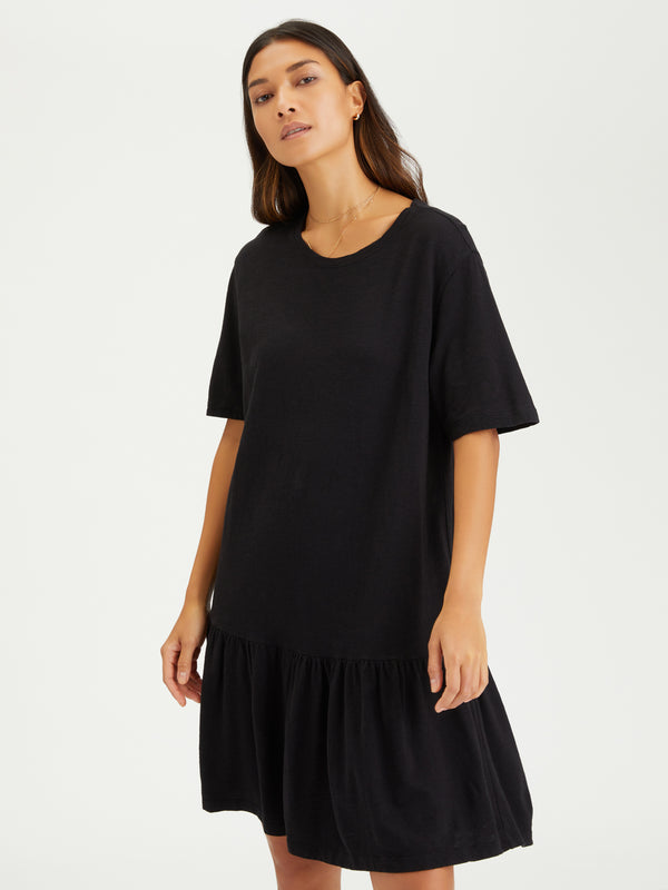 Refresh T-Shirt Dress Black