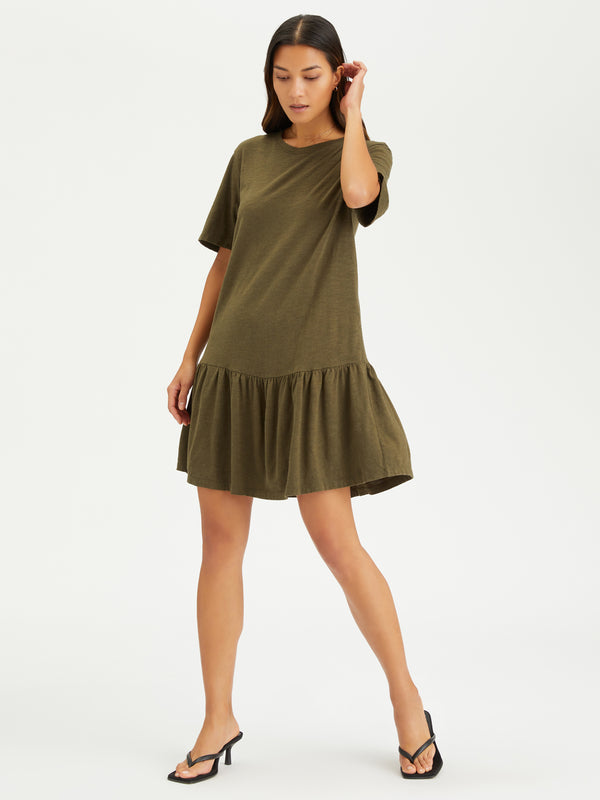 Refresh T-Shirt Dress Fatigue