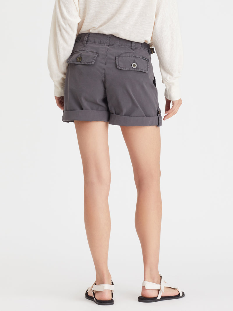 Squad Short Washed Black - Short