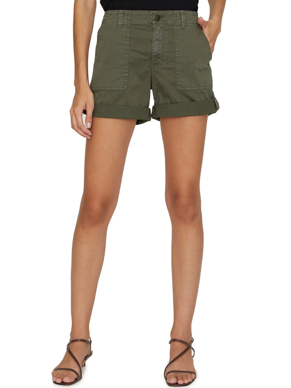 Squad Short Aged Green