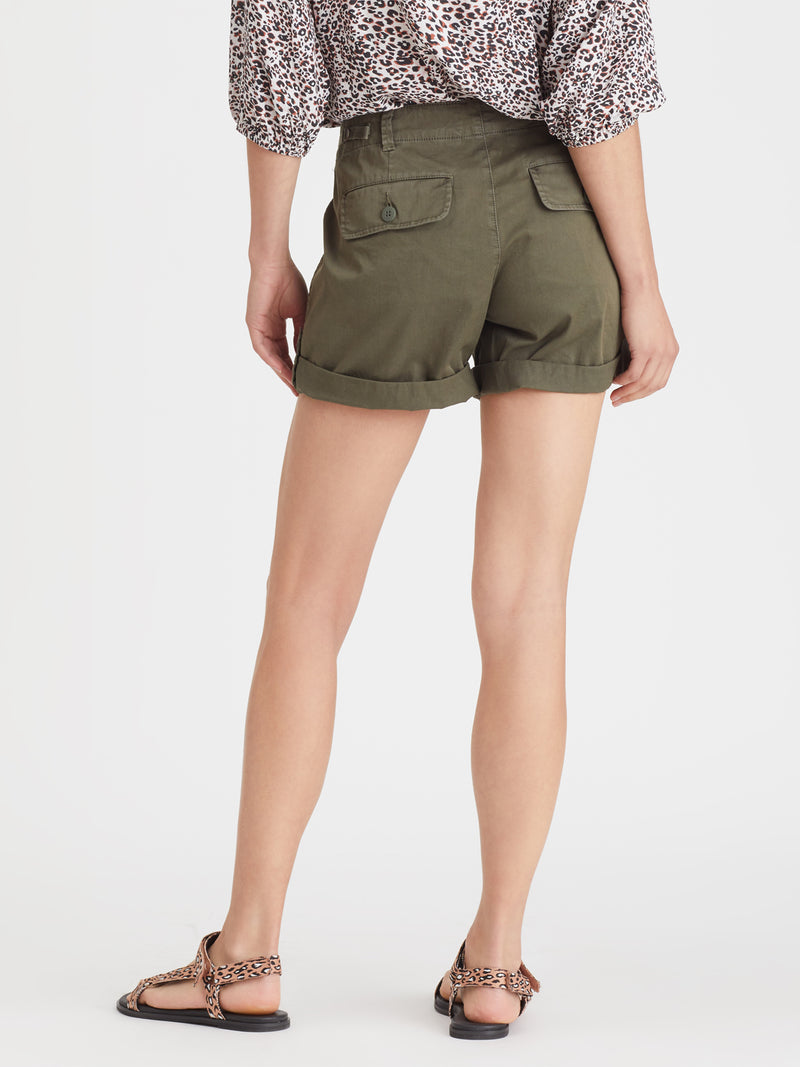 Squad Short Organic Green