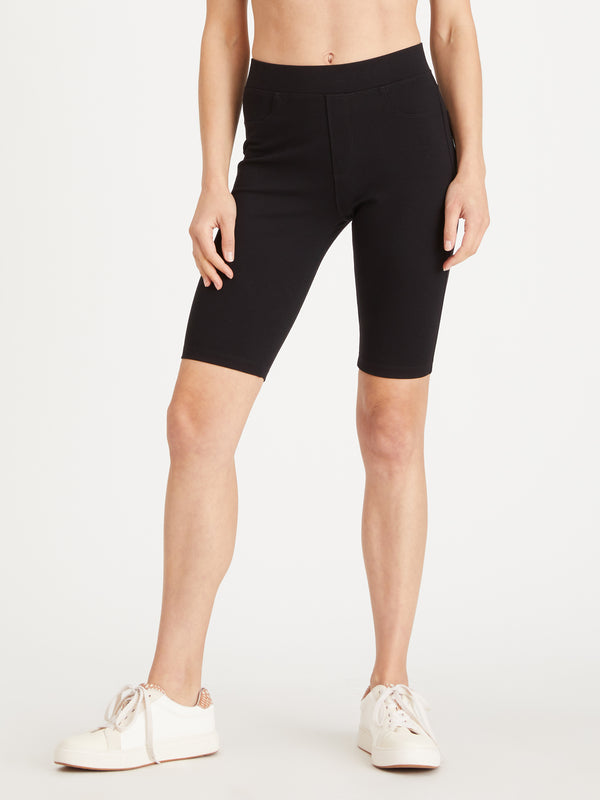 Runway Biker Short Black