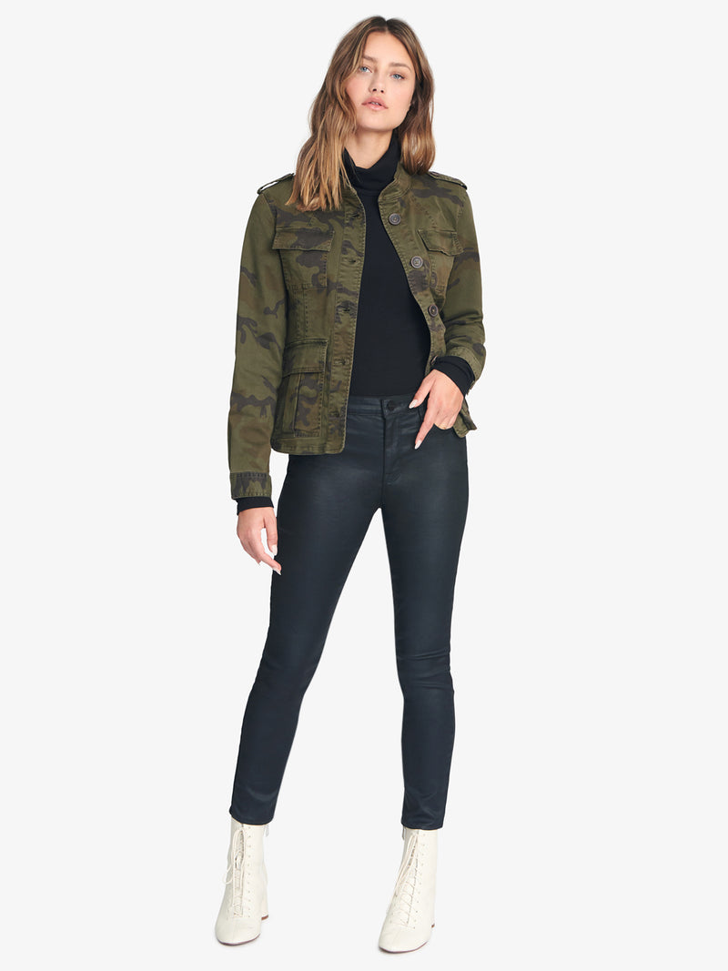 Sacred Valley Military Jacket Dark Mineral Camo