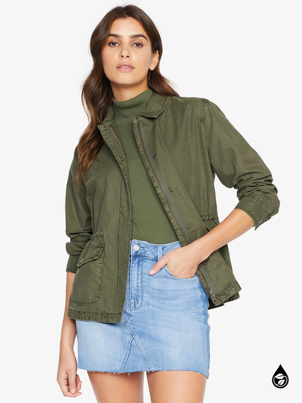 Liberty Military Jacket Army Green