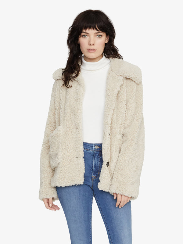 Teddy Coat Moonstone