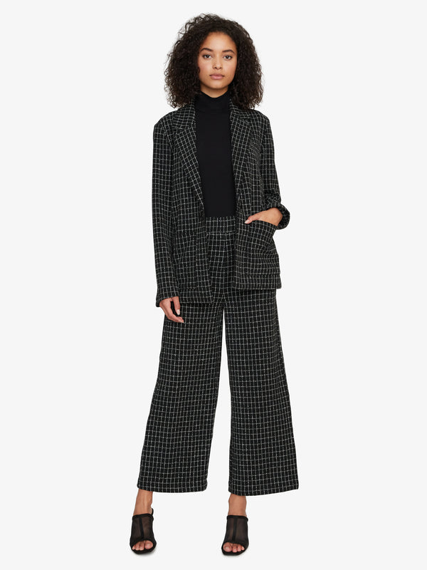 The Boyfriend Blazer Windowpane Check