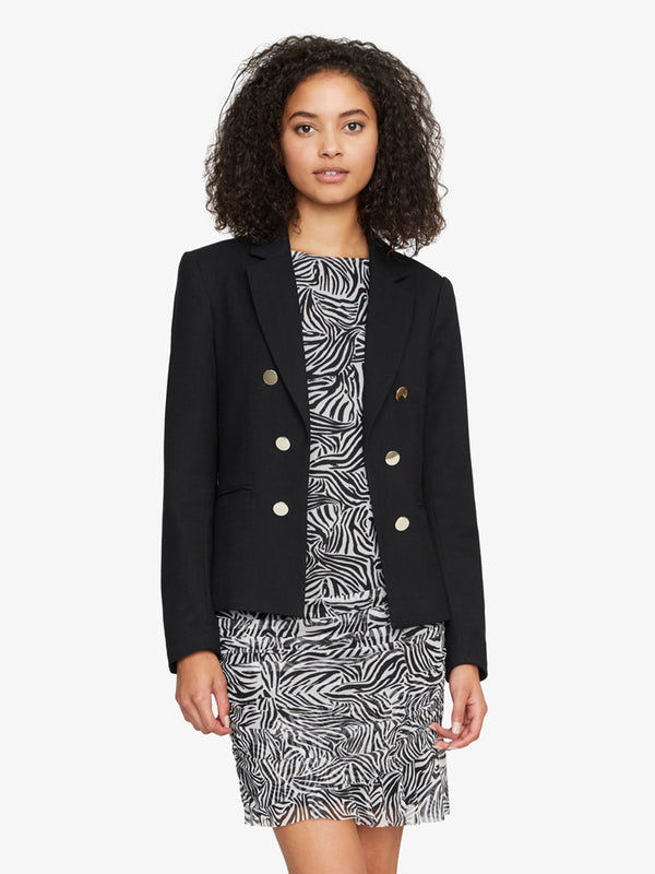 The Academy Blazer Black