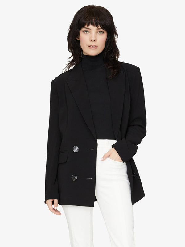 The Boss Lady Blazer Black