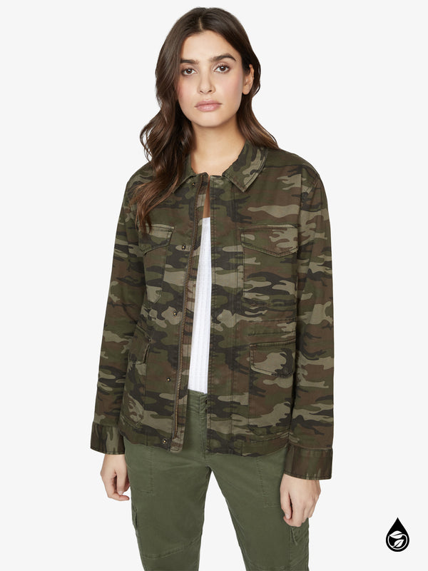 Salute Jacket Little Hero Camo