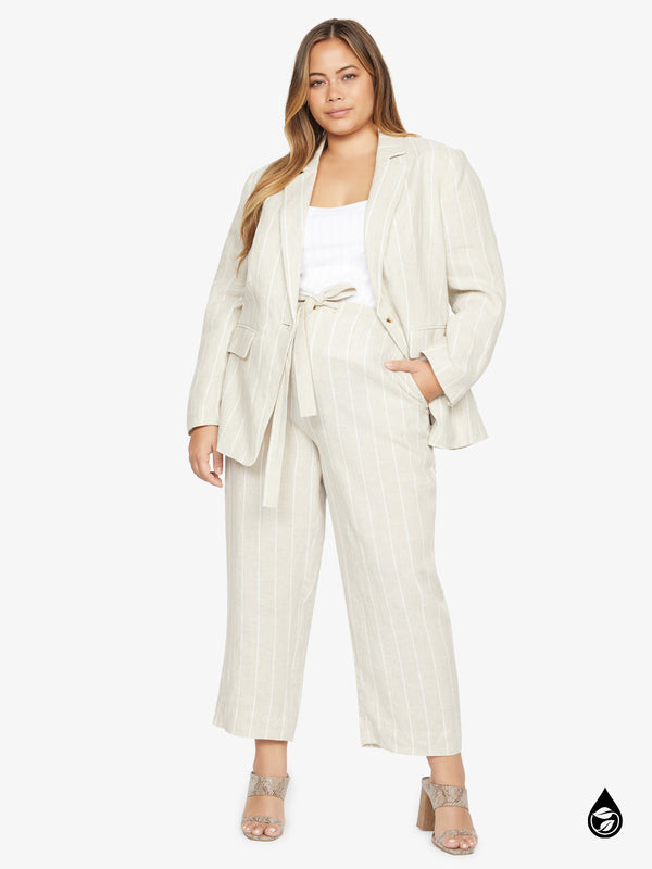 The Shayne Pant Hampton Stripe  Inclusive Collection