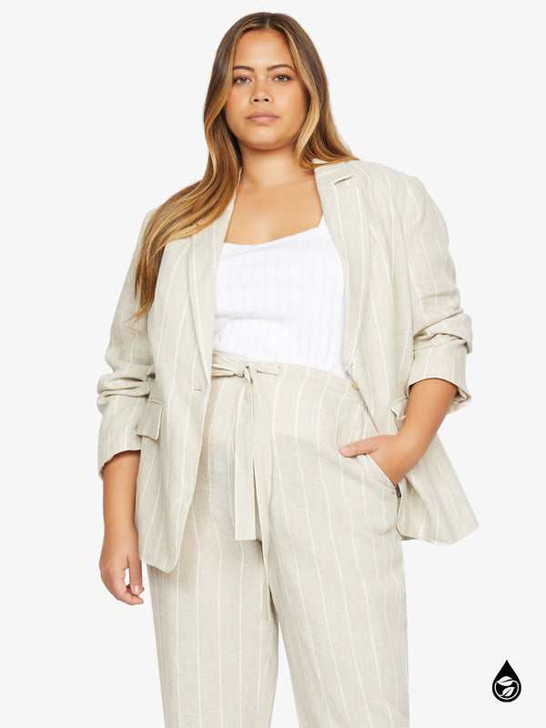 Eastport Blazer Hampton Stripe Inclusive Collection